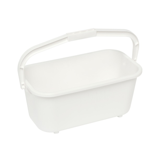 11L White Window Bucket