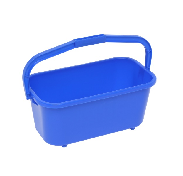 11L Blue Window Bucket