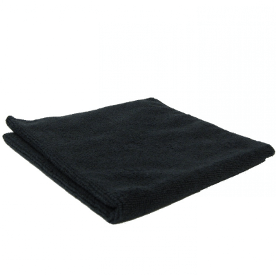 Cleanstar Microfibre Cloths 40x40cm 5/pk - Black